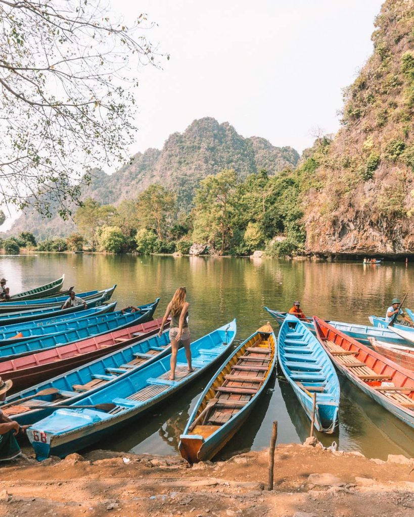 Sadan Cave lake