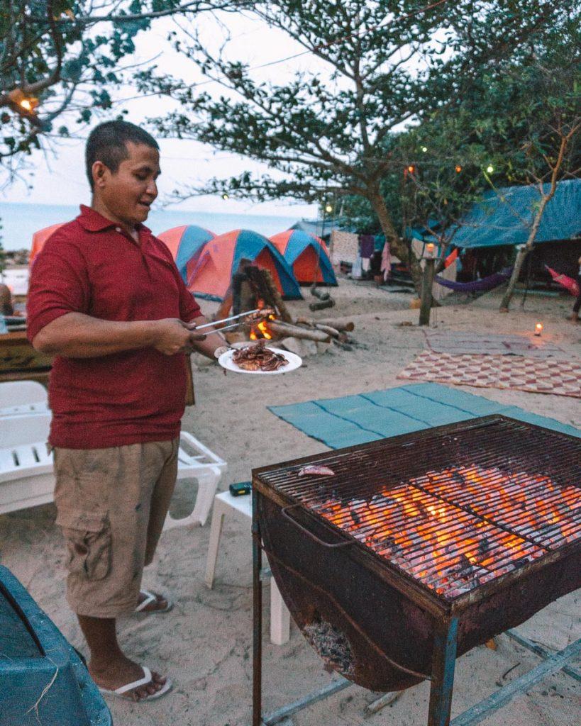 Coconut beach BBQ