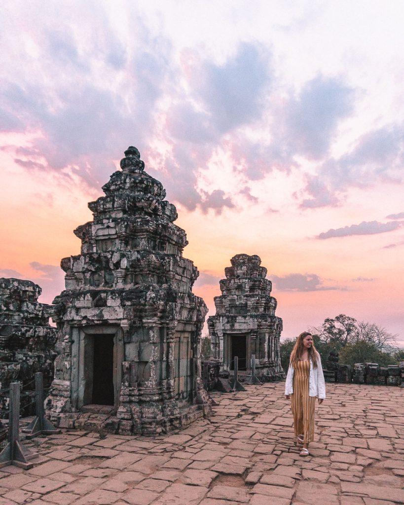 Phnom Bakheng tempel Sunset